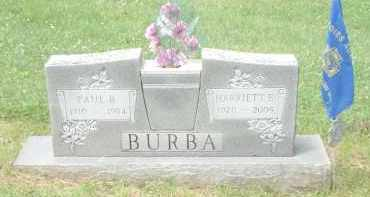 B BURBA, PAUL - Highland County, Ohio | PAUL B BURBA - Ohio Gravestone Photos