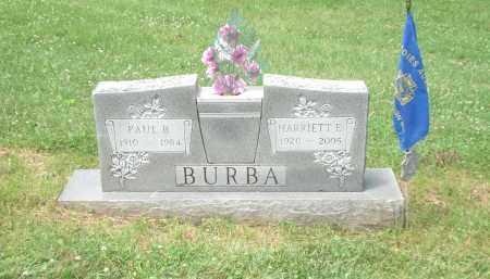 SHOEMAKER (SHUMAKER) BURBA, HARRIETT - Highland County, Ohio   HARRIETT SHOEMAKER (SHUMAKER) BURBA - Ohio Gravestone Photos