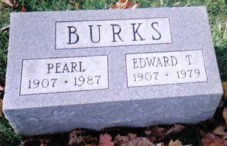 BURKS, EDWARD T. - Highland County, Ohio | EDWARD T. BURKS - Ohio Gravestone Photos