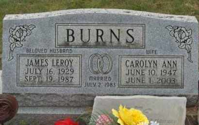 COX BURNS, CAROLYN ANN - Highland County, Ohio | CAROLYN ANN COX BURNS - Ohio Gravestone Photos