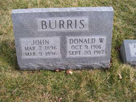 BURRIS, JOHN - Highland County, Ohio | JOHN BURRIS - Ohio Gravestone Photos