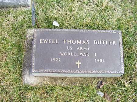 BUTLER, EWELL THOMAS - Highland County, Ohio   EWELL THOMAS BUTLER - Ohio Gravestone Photos