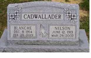 CADWALLADER, BLANCHE - Highland County, Ohio   BLANCHE CADWALLADER - Ohio Gravestone Photos