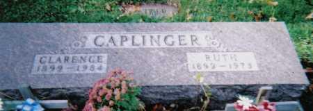 CAPLINGER, RUTH - Highland County, Ohio | RUTH CAPLINGER - Ohio Gravestone Photos