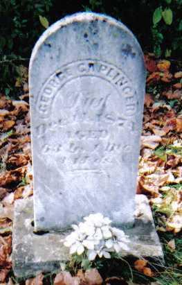 CAPLINGER, GEORGE - Highland County, Ohio | GEORGE CAPLINGER - Ohio Gravestone Photos
