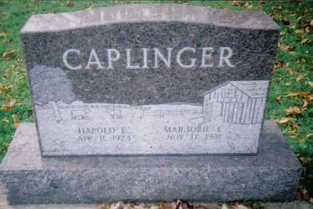 CAPLINGER, HAROLD E. - Highland County, Ohio | HAROLD E. CAPLINGER - Ohio Gravestone Photos