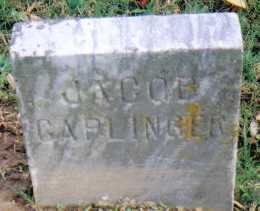 CAPLINGER, JACOB - Highland County, Ohio   JACOB CAPLINGER - Ohio Gravestone Photos