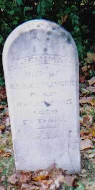 CAPLINGER, JEMIMA - Highland County, Ohio | JEMIMA CAPLINGER - Ohio Gravestone Photos