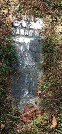 CAPLINGER, SARAH M. - Highland County, Ohio | SARAH M. CAPLINGER - Ohio Gravestone Photos