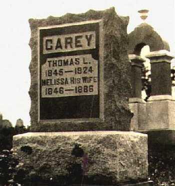 CAREY, THOMAS L. - Highland County, Ohio | THOMAS L. CAREY - Ohio Gravestone Photos