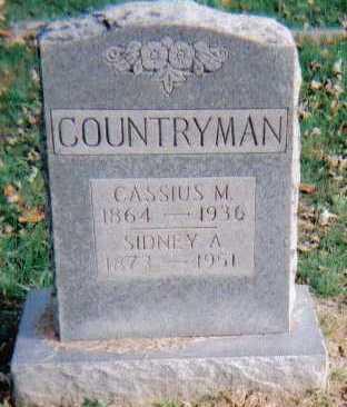 COUNTRYMAN, CASSIUS M. - Highland County, Ohio   CASSIUS M. COUNTRYMAN - Ohio Gravestone Photos