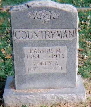 COUNTRYMAN, CASSIUS M. - Highland County, Ohio | CASSIUS M. COUNTRYMAN - Ohio Gravestone Photos