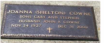 SHELTON COWNE, JOANNA - Highland County, Ohio | JOANNA SHELTON COWNE - Ohio Gravestone Photos