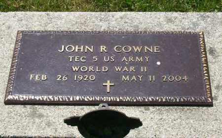 COWNE, JOHN R. - Highland County, Ohio   JOHN R. COWNE - Ohio Gravestone Photos