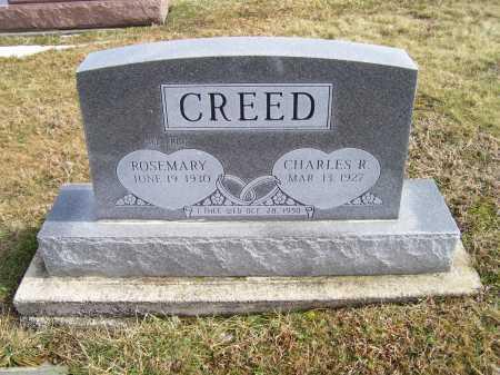 CREED, CHARLES R. - Highland County, Ohio   CHARLES R. CREED - Ohio Gravestone Photos