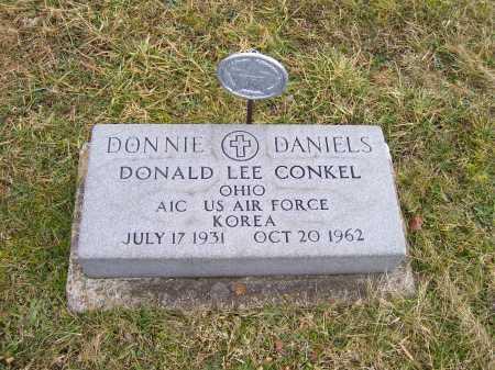 CONKEL, DONALD LEE - Highland County, Ohio | DONALD LEE CONKEL - Ohio Gravestone Photos