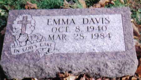 DAVIS, EMMA - Highland County, Ohio | EMMA DAVIS - Ohio Gravestone Photos