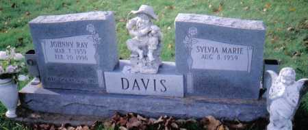 DAVIS, SYLVIA MARIE - Highland County, Ohio | SYLVIA MARIE DAVIS - Ohio Gravestone Photos