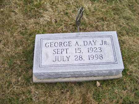 DAY, GEORGE A. JR. - Highland County, Ohio   GEORGE A. JR. DAY - Ohio Gravestone Photos