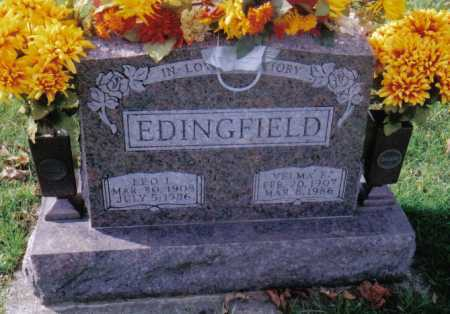 EDINGFIELD, VELMA E. - Highland County, Ohio | VELMA E. EDINGFIELD - Ohio Gravestone Photos