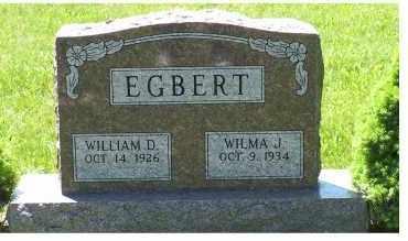 EGBERT, WILLIAM D. - Highland County, Ohio | WILLIAM D. EGBERT - Ohio Gravestone Photos