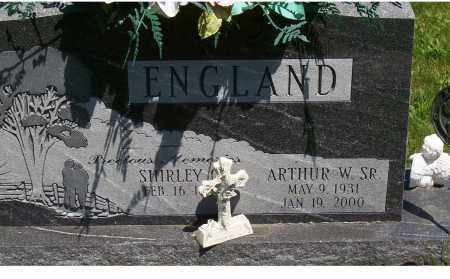 ENGLAND, SHIRLEY - Highland County, Ohio | SHIRLEY ENGLAND - Ohio Gravestone Photos