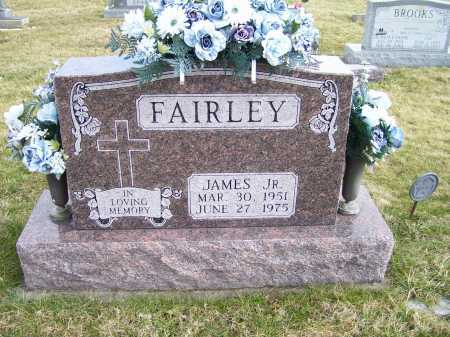 FAIRLEY, JAMES JR. - Highland County, Ohio | JAMES JR. FAIRLEY - Ohio Gravestone Photos