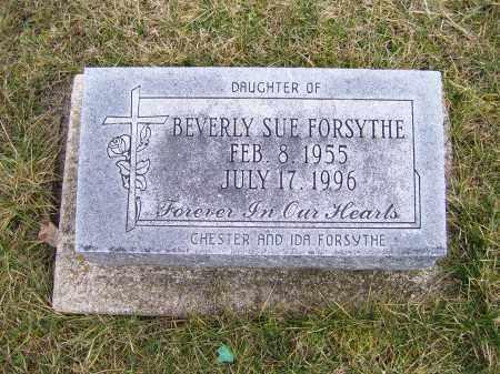 FORSYTHE, BEVERLY SUE - Highland County, Ohio | BEVERLY SUE FORSYTHE - Ohio Gravestone Photos