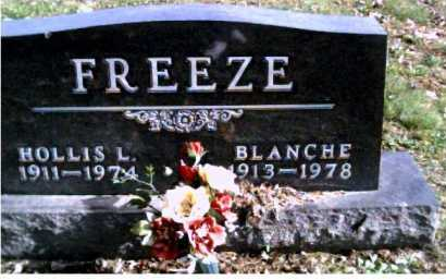 FREEZE, BLANCHE - Highland County, Ohio | BLANCHE FREEZE - Ohio Gravestone Photos