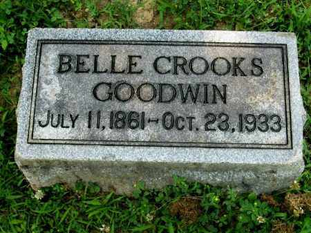 CROOKS GOODWIN, BELLE - Highland County, Ohio | BELLE CROOKS GOODWIN - Ohio Gravestone Photos