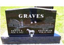 GRAVES, ELIZABETH - Highland County, Ohio | ELIZABETH GRAVES - Ohio Gravestone Photos