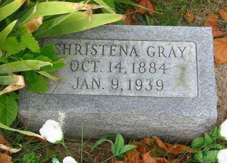 GRAY, CHRISTENA CATHERINE - Highland County, Ohio | CHRISTENA CATHERINE GRAY - Ohio Gravestone Photos