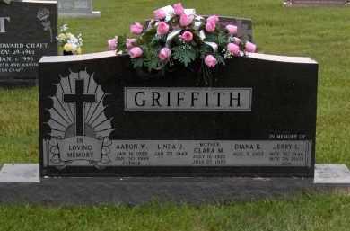 GRIFFITH, AARON W. - Highland County, Ohio | AARON W. GRIFFITH - Ohio Gravestone Photos