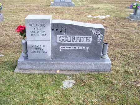 GRIFFITH, ROLAND Q. (TED) - Highland County, Ohio | ROLAND Q. (TED) GRIFFITH - Ohio Gravestone Photos