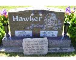 HAWKER, ELIZABETH E. - Highland County, Ohio | ELIZABETH E. HAWKER - Ohio Gravestone Photos