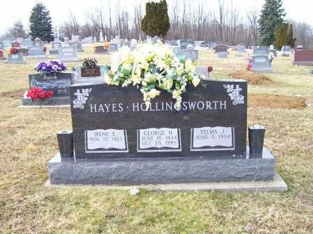 HAYES+HOLLINGSWORTH, GEORGE H. - Highland County, Ohio | GEORGE H. HAYES+HOLLINGSWORTH - Ohio Gravestone Photos