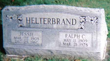 HELTERBRAND, JESSIE - Highland County, Ohio | JESSIE HELTERBRAND - Ohio Gravestone Photos