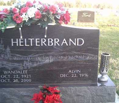 HELTERBRAND, ALVIN - Highland County, Ohio | ALVIN HELTERBRAND - Ohio Gravestone Photos