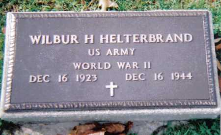 HELTERBRAND, WILBUR H. - Highland County, Ohio | WILBUR H. HELTERBRAND - Ohio Gravestone Photos