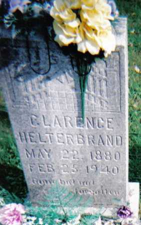 HELTERBRAND, CLARENCE - Highland County, Ohio | CLARENCE HELTERBRAND - Ohio Gravestone Photos
