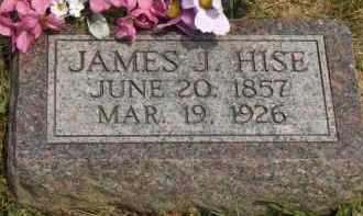 HISE, JAMES J. - Highland County, Ohio   JAMES J. HISE - Ohio Gravestone Photos