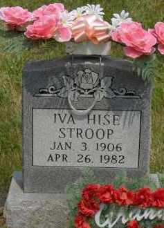 HISE STROOP, IVA - Highland County, Ohio | IVA HISE STROOP - Ohio Gravestone Photos