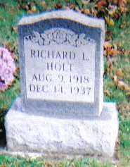 HOLT, RICHARD L. - Highland County, Ohio | RICHARD L. HOLT - Ohio Gravestone Photos