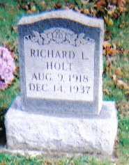 HOLT, RICHARD L. - Highland County, Ohio   RICHARD L. HOLT - Ohio Gravestone Photos