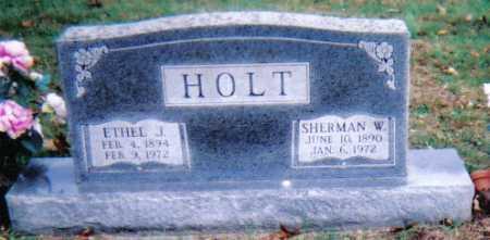 HOLT, SHERMAN W. - Highland County, Ohio | SHERMAN W. HOLT - Ohio Gravestone Photos