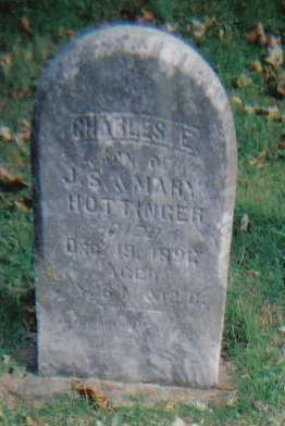 HOTTINGER, CHARLES E. - Highland County, Ohio | CHARLES E. HOTTINGER - Ohio Gravestone Photos