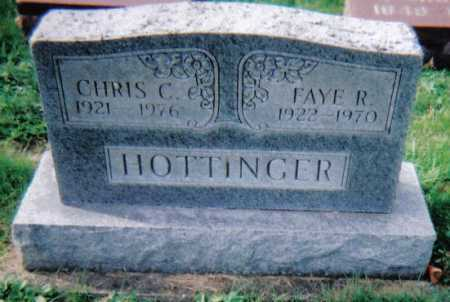 HOTTINGER, FAYE R. - Highland County, Ohio | FAYE R. HOTTINGER - Ohio Gravestone Photos