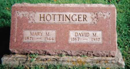 HOTTINGER, MARY M. - Highland County, Ohio | MARY M. HOTTINGER - Ohio Gravestone Photos