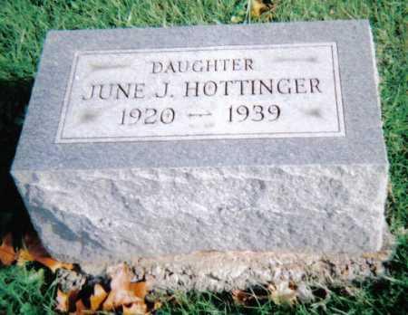 HOTTINGER, JUNE J. - Highland County, Ohio   JUNE J. HOTTINGER - Ohio Gravestone Photos