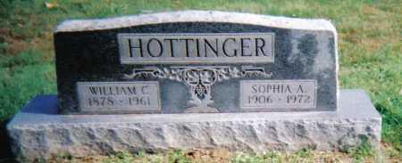 HOTTINGER, WILLIAM C. - Highland County, Ohio | WILLIAM C. HOTTINGER - Ohio Gravestone Photos